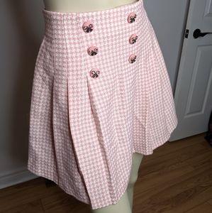 Vintage - houndstooth skirt